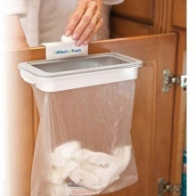 Attach A Trash Garbage Bag Holder