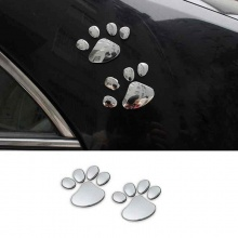 Paw Car Sticker
